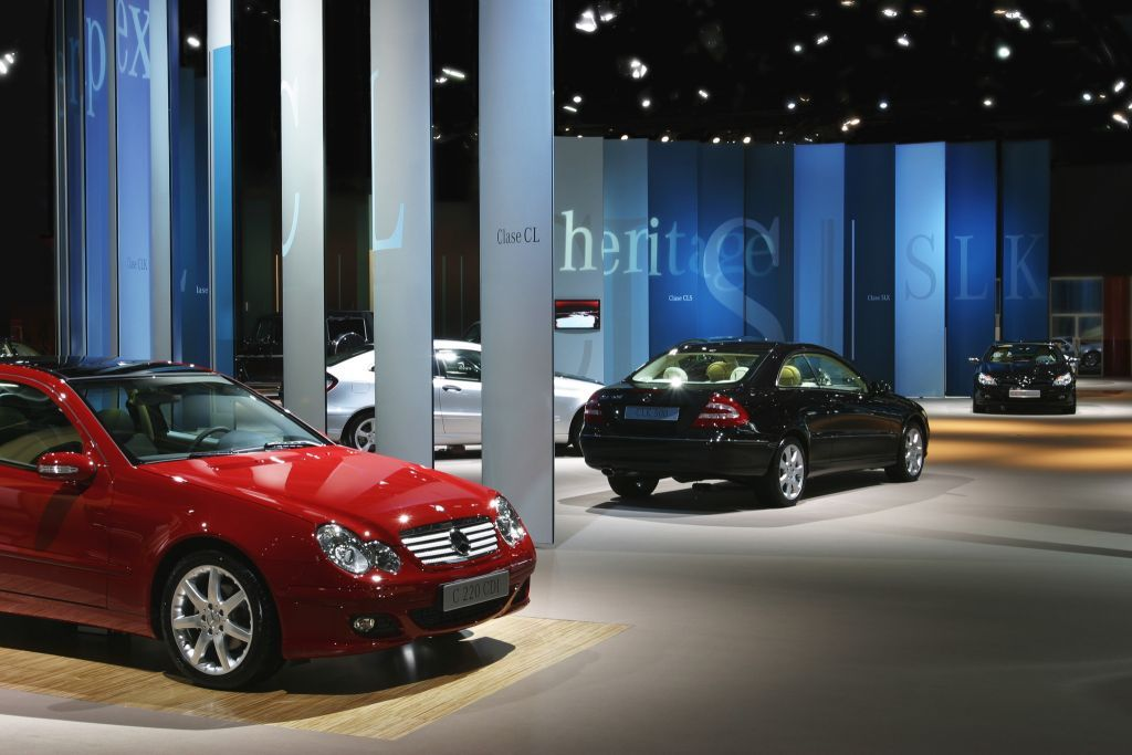 Mercedes-Benz Trade Fair Stands