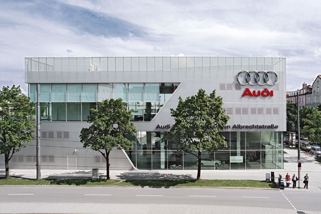 Audi Sales Center Munich